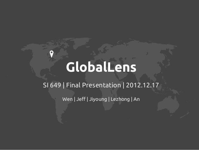 Global Lens - Visualize World Bank Data