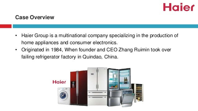 haiers strategy in china Haiers us refrigerator strategy 2005 case solution, haier, the first chinese consumer durable brand in the united states, succeeded in the compact refrigerator, freezer, air conditioning and markets and buil.