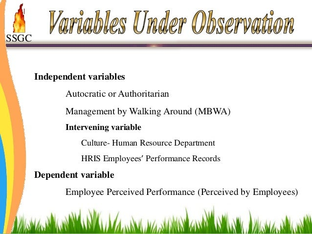 Pay for dissertation variables
