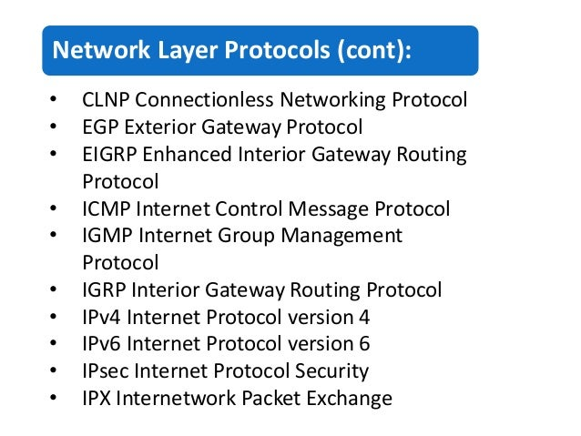 Final Presentation On The Network Layer