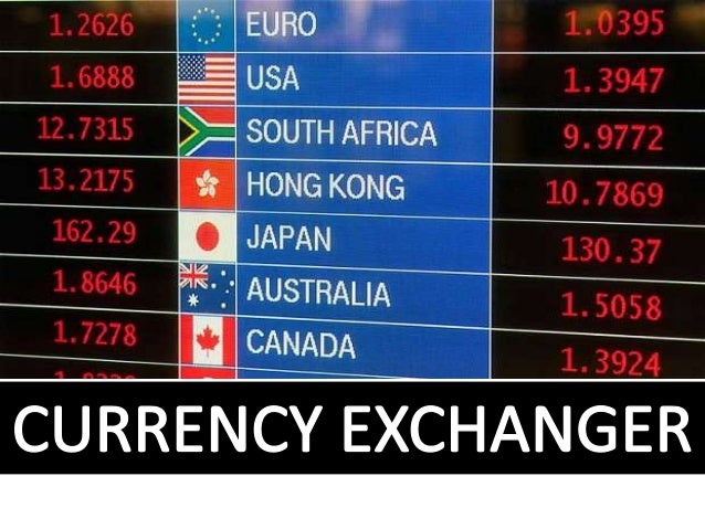 Currency marketing