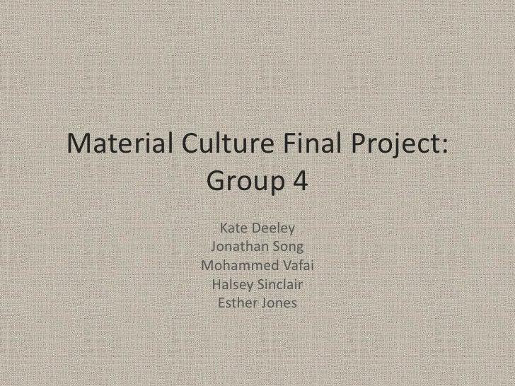 Final presentation   group 4