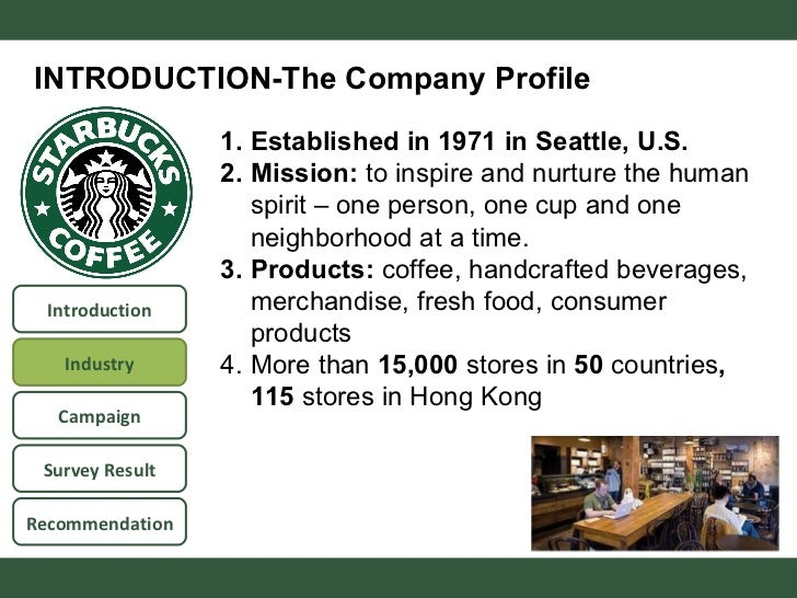 starbucks coffee company essay