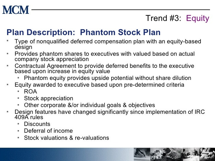Stock options phantom