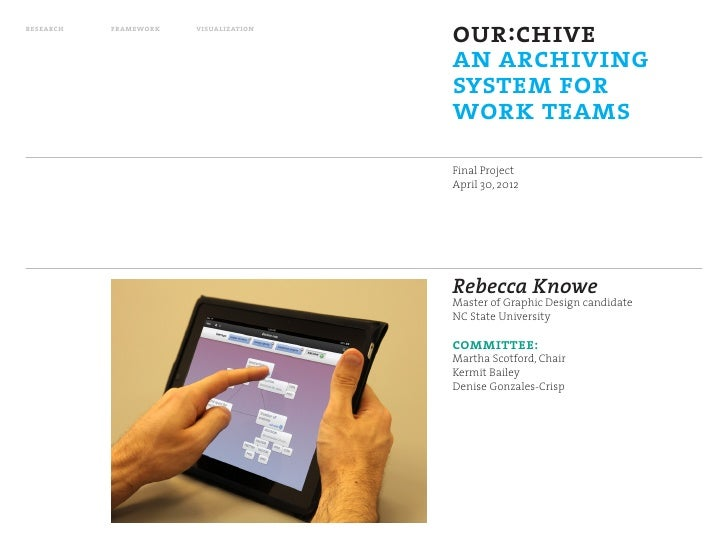 research   framework   visualization                                       our:chive                                      ...
