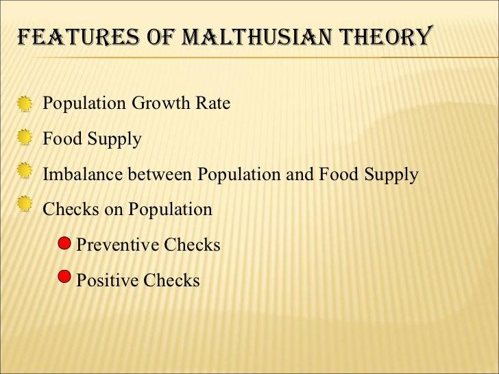 malthuss population theory essay