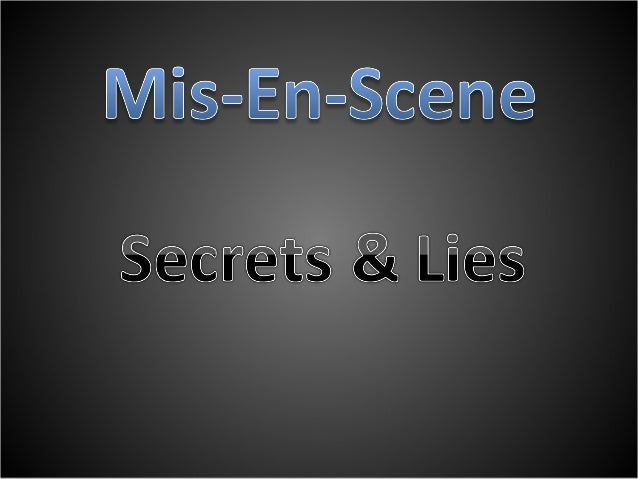 Secrets & Lies 1 • The people appear to be a family and they seem to be quite common from their accents yet they are dress...