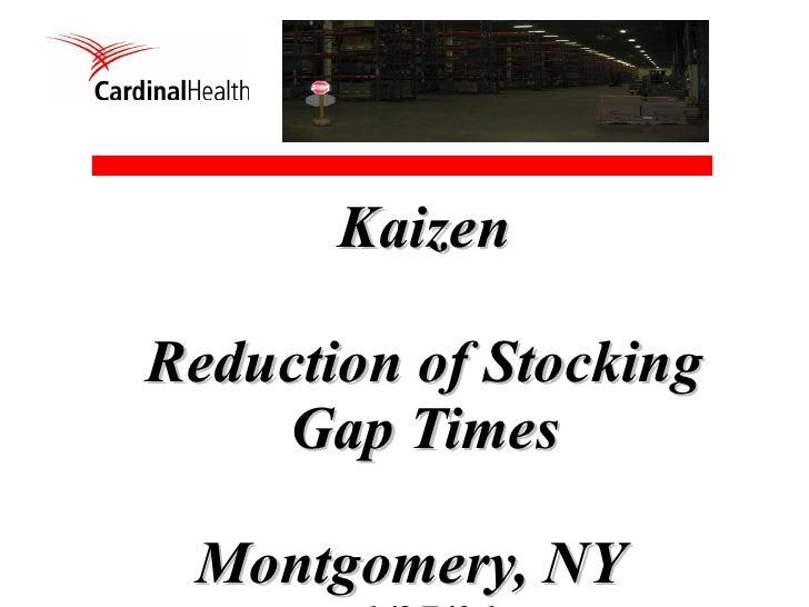 Final Presentation   Gap Reduction