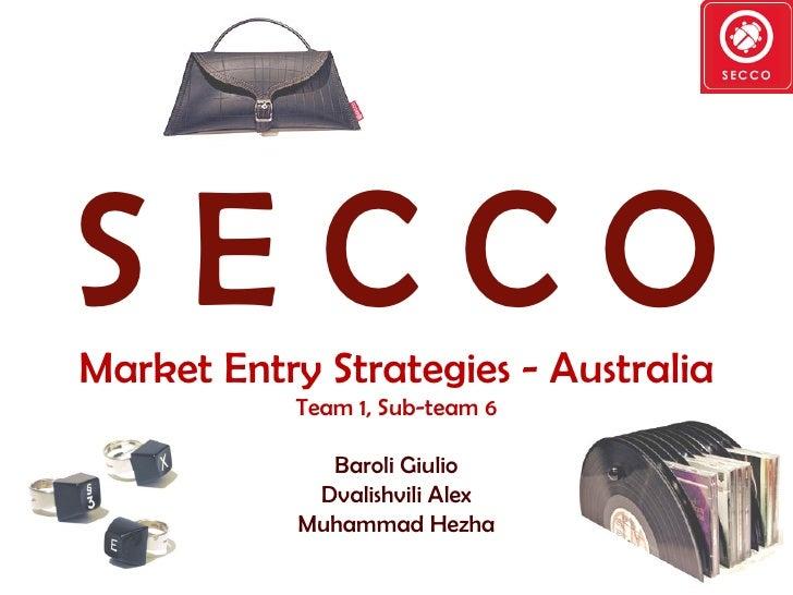 Final Presentation   Internationalization Secco