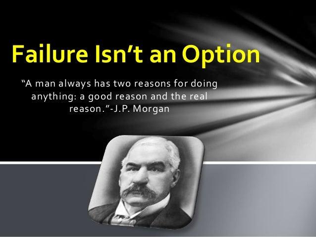 jp morgan  profile of an entrepreneur