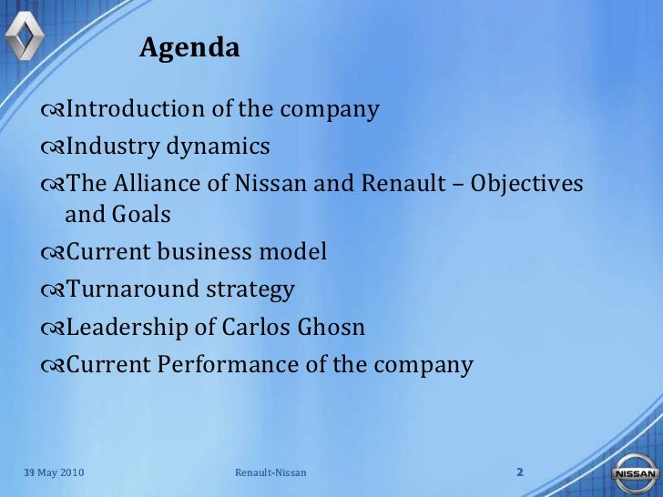 renault nissan the challenge of sustaining strategic change Global business cases by year change management, lean implementation teofilo oil services renault nissan: the challenge of sustaining change.