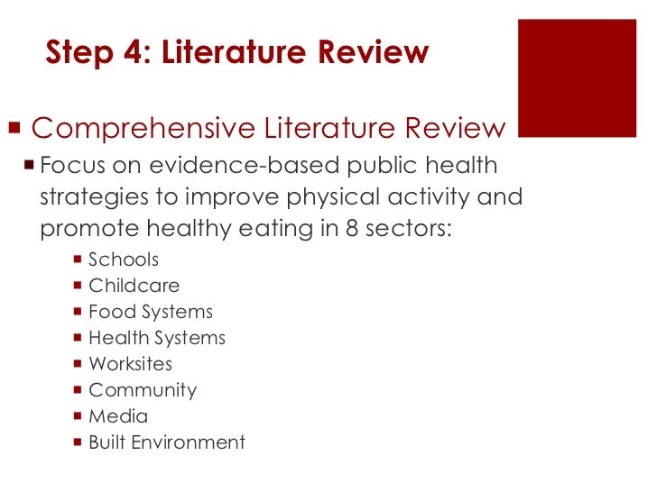 Literature review on obesity