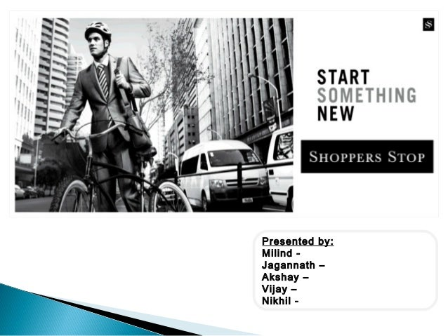 Retail Presentation - Shoppers Stop