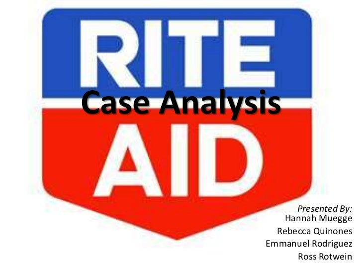 Case Analysis<br />Presented By: Hannah Muegge<br />Rebecca Quinones<br />Emmanuel Rodriguez<br />Ross Rotwein<br />