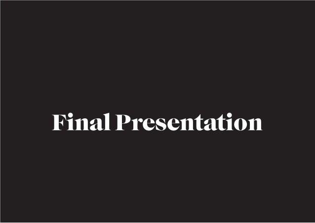 Götgatan Jam - Final Presentation