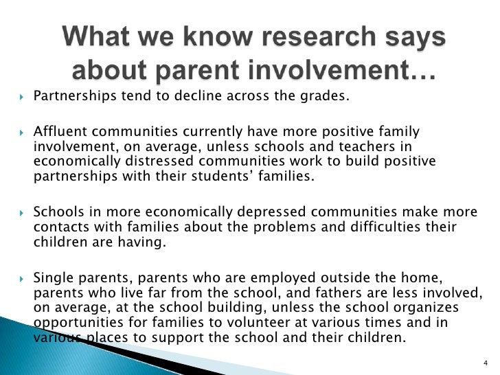 Dissertation Involvement Parental