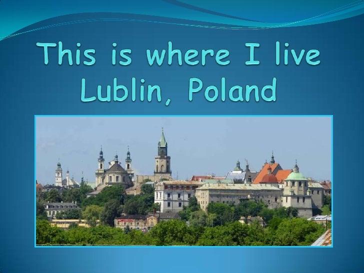 Final prezentation Lublin, Poland