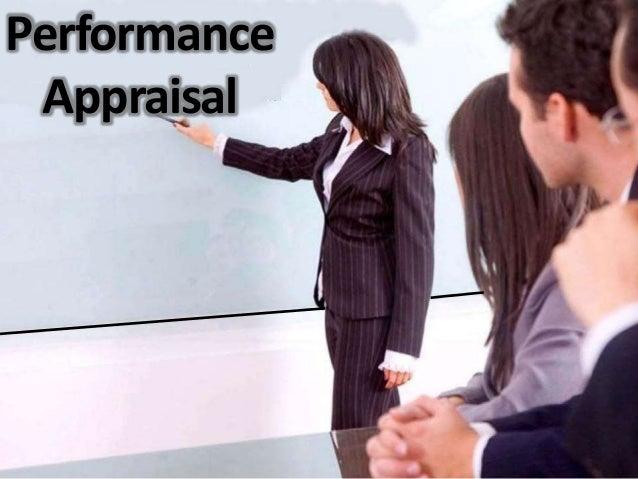 Perfomnce appraisal