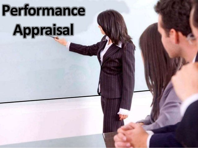 Perfomnce appraisal