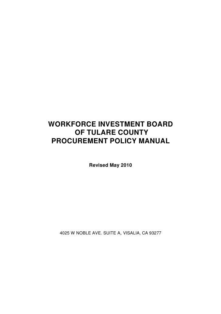 Final procurementmanualrevised2010
