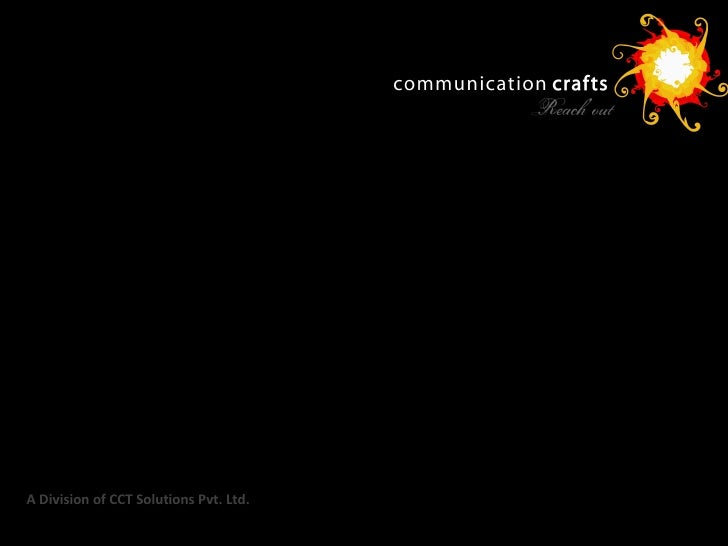 A Division of CCT Solutions Pvt. Ltd.