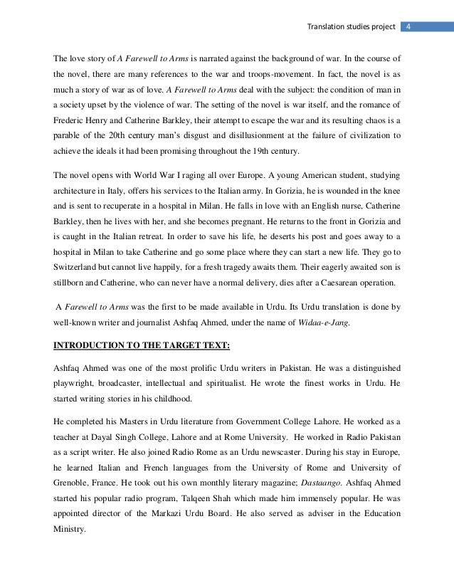 farewell arms ernest hemingway 3 point thesis hemingway s Ernest hemingway rating and stats 20 (1) document actions download a farewell to arms study guide student edition book one chapter i at the end of the chapter how does he feel about catherine at this point in the story s-6.