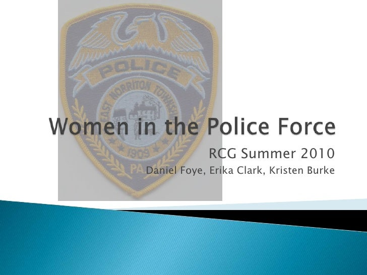 Women in the Police Force