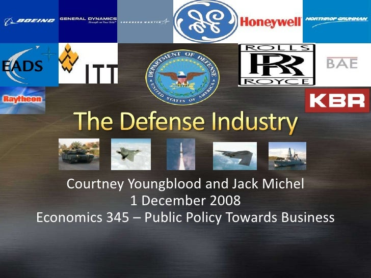 Courtney Youngblood and Jack Michel              1 December 2008 Economics 345 – Public Policy Towards Business