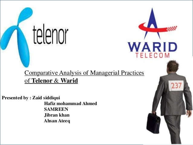 Presentation for Myers-Briggs Type Indicator Comparative Analysis of Managerial Practices MBTI®Telenor & Warid of Group Fe...