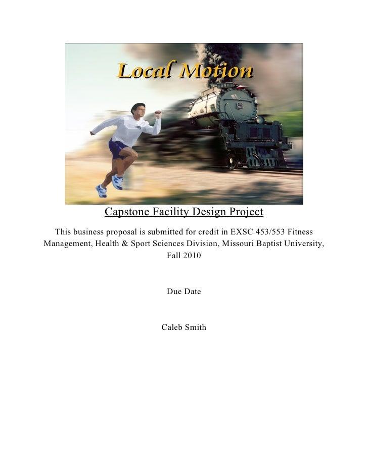 Local Motion Capstone Document