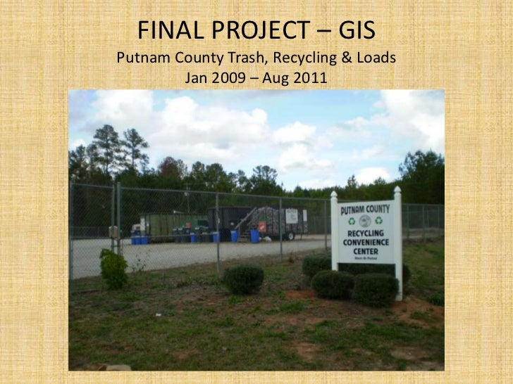 Final Project – Gis