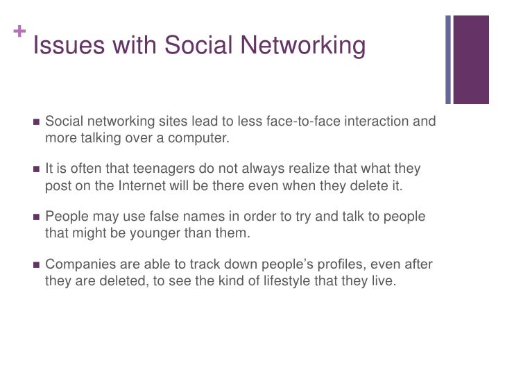effects of social networking essays This sample essay on the effects of social media on interpersonal relationships explores how devices take us out of the moment.