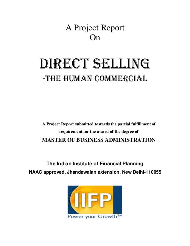 direct marketting project report Important topics for projects in marketing mbalectures december 10, 2010 december 3, 2012 291 comments selection of research topic is the basic and important part of research report attitude of people in different roles towards direct marketing.