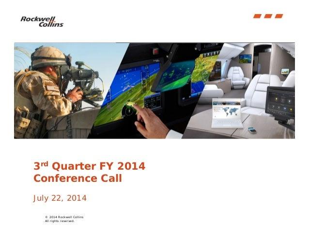Final q3 fy14 quarterly earnings presentation