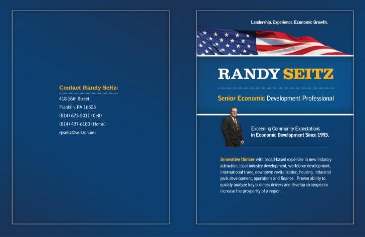 Randy P. Seitz - CEO