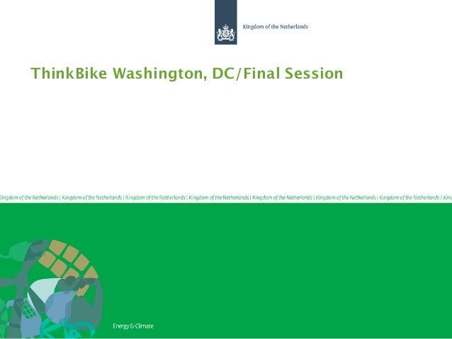 ThinkBike Washington, DC/Final Session