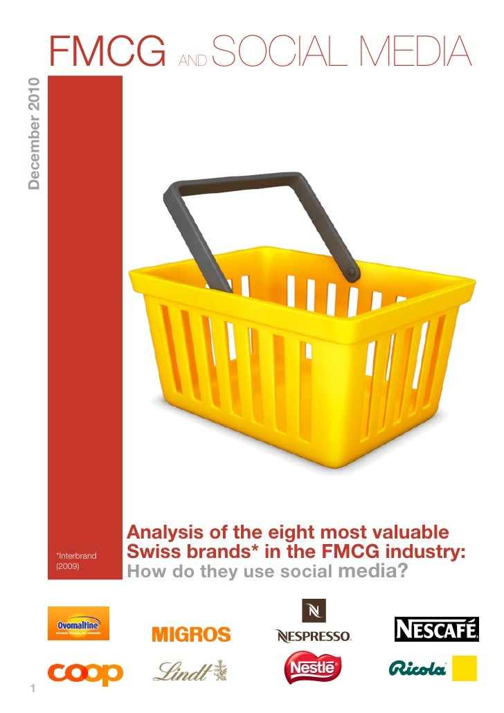 Social Media in the FMCG industry