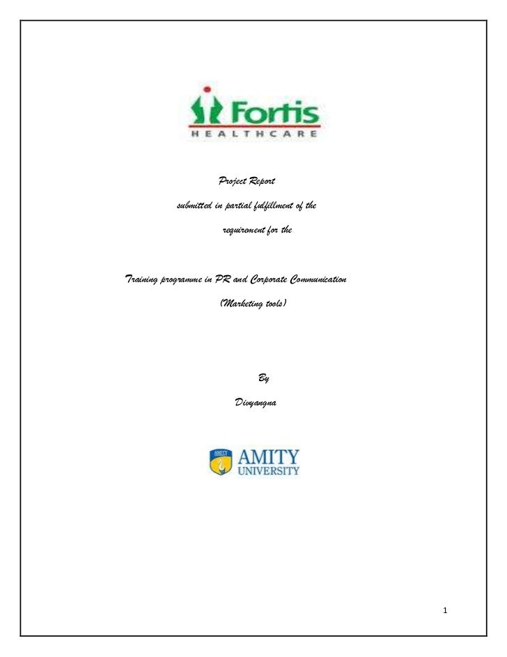 Project Report            submitted in partial fulfillment of the                        requirement for theTraining progr...