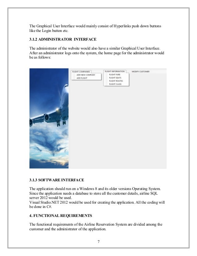 airline reservation websites