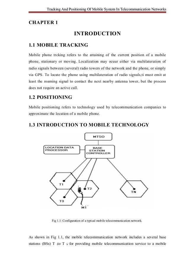 Tracking And Positioning Of Mobile System In Telecommunication NetworksTracking And Positioning Of Mobile System In Teleco...
