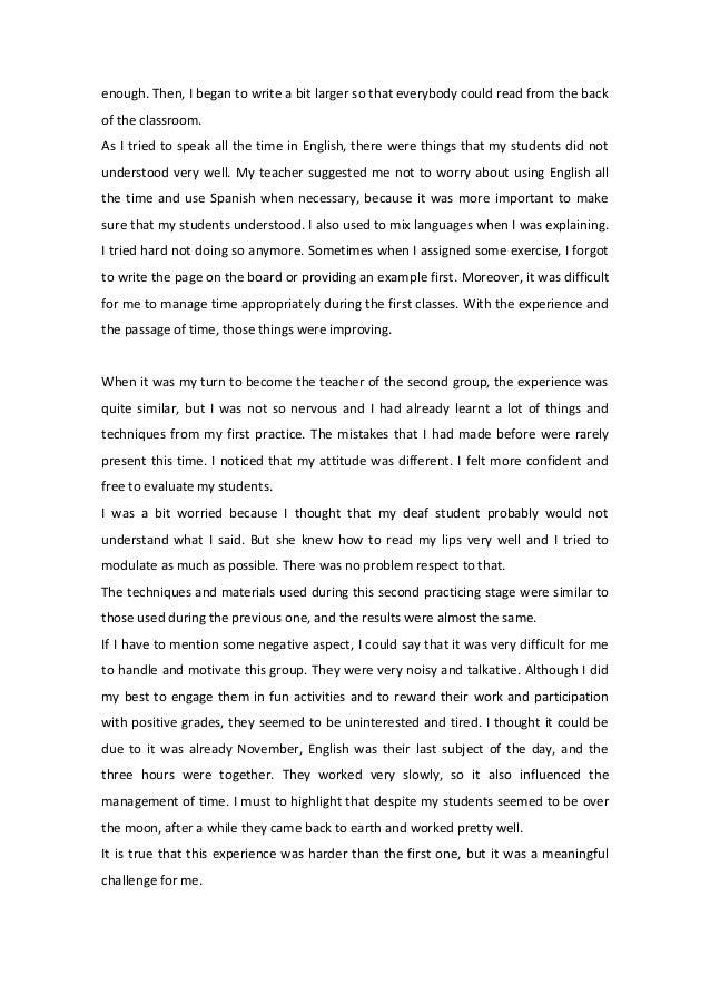 essay on my best teacher