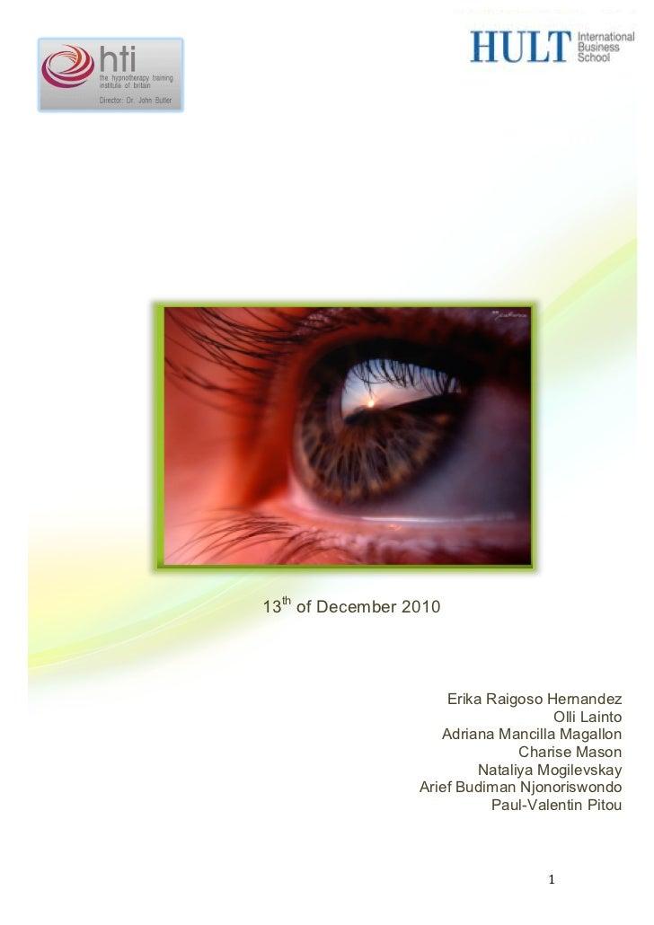 Hypnotherapy Training Institute of Britain                       International...