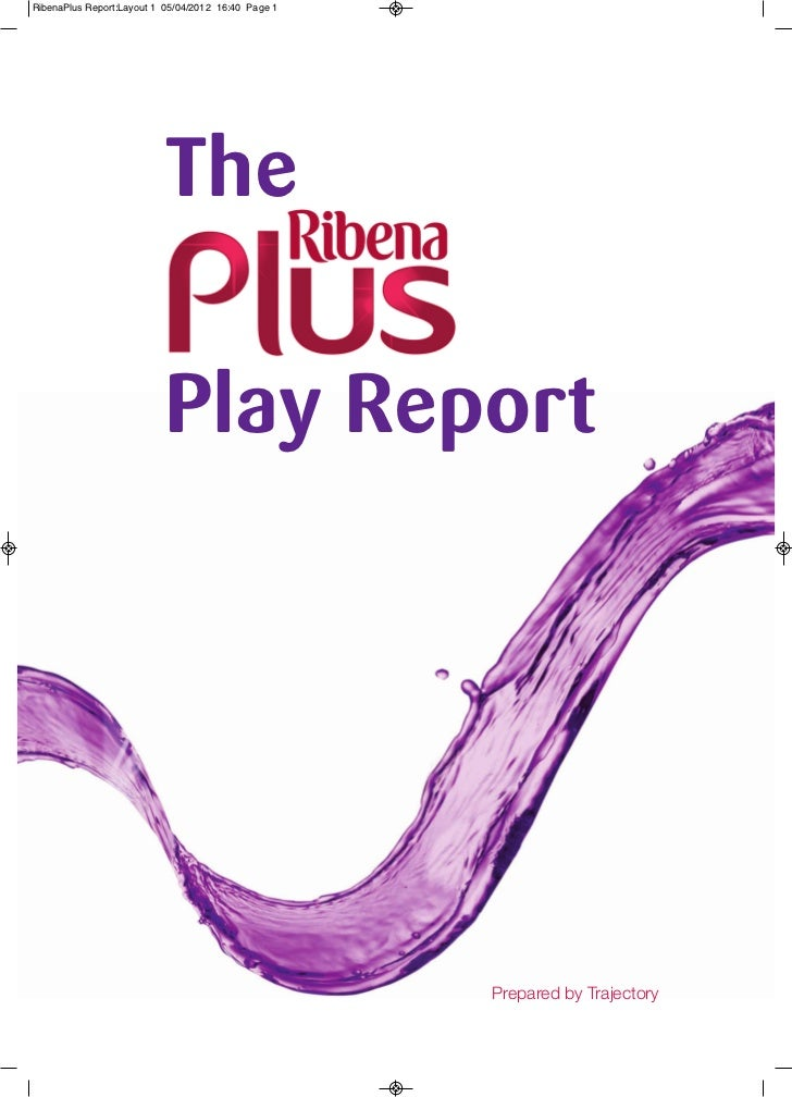 Unity-Changing Children's play with Ribena In the UK