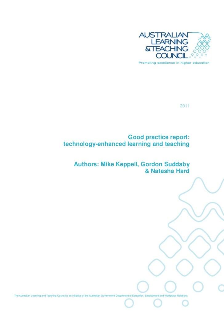 Final report 1.0 - Good Practice Report