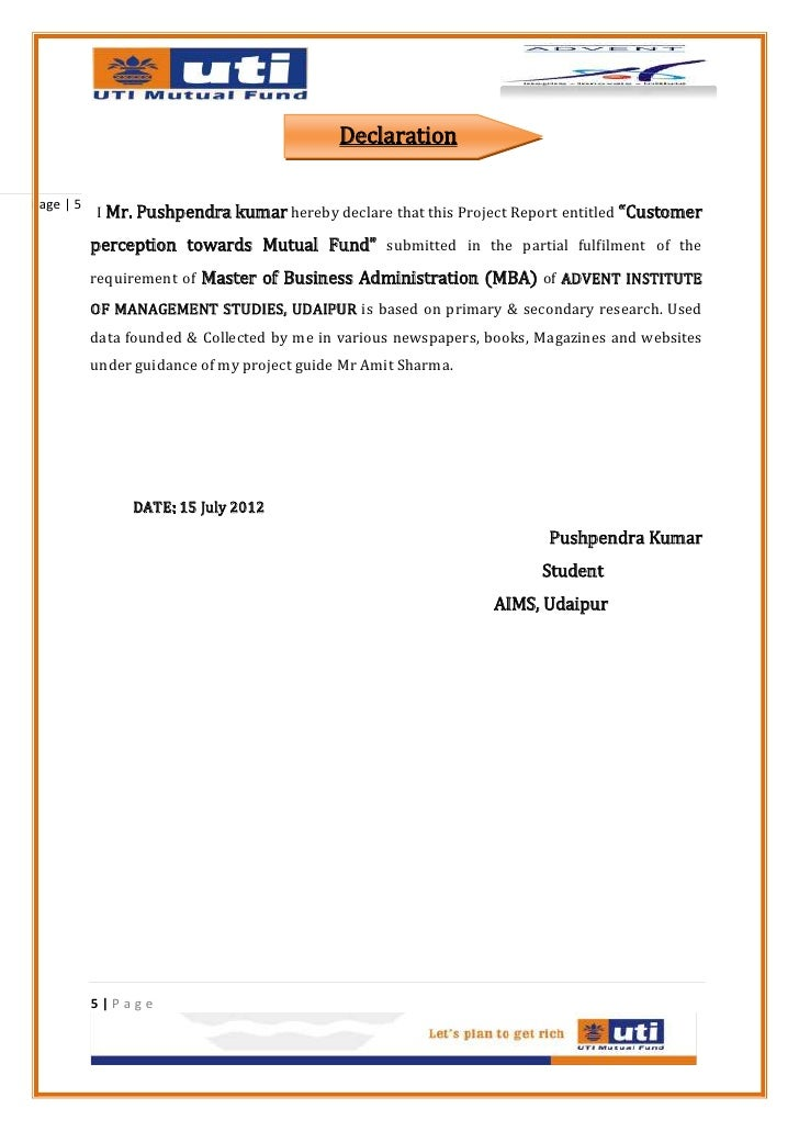 review of literature on customer perception towards mutual funds Performance of indian mutual fund industry: growth schemes: perception of investors and performance of mutual fund schemes [lakshmi natarajan] on amazoncom free shipping on qualifying offers.