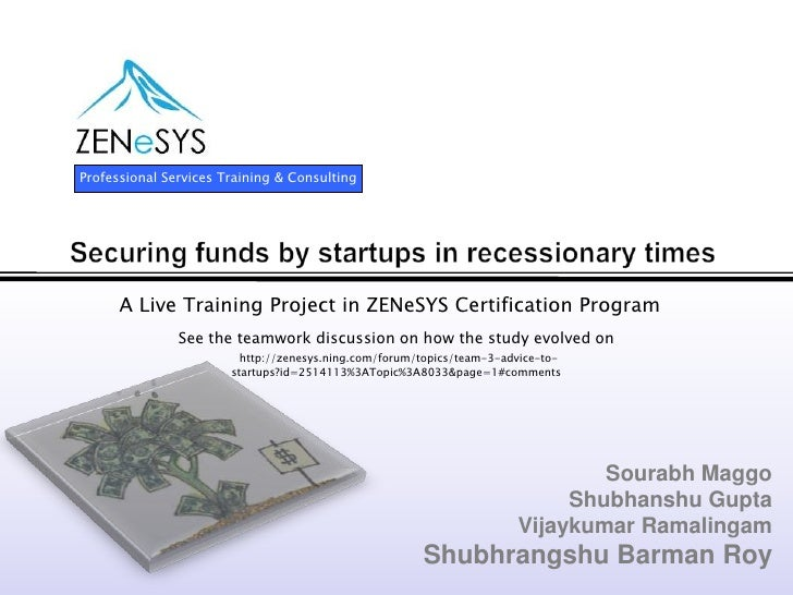 Professional Services Training & Consulting           A Live Training Project in ZENeSYS Certification Program            ...