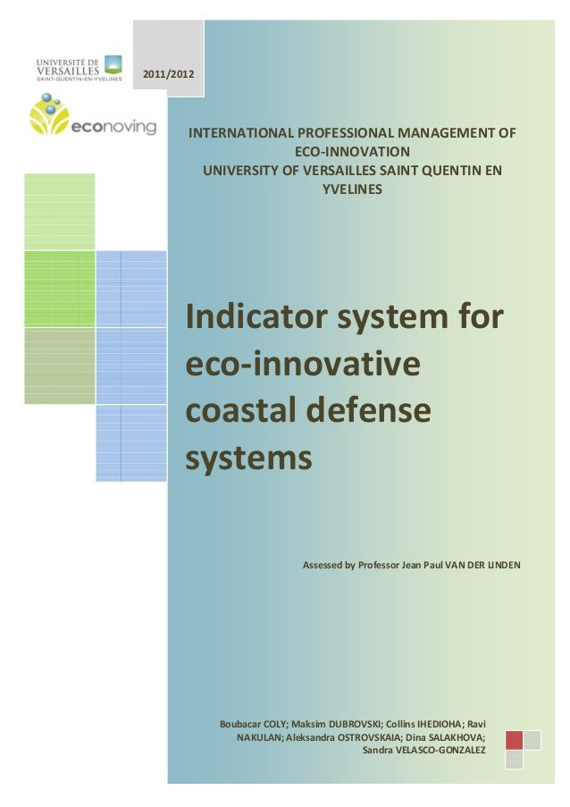 Coastal Defense Management : A Group Report