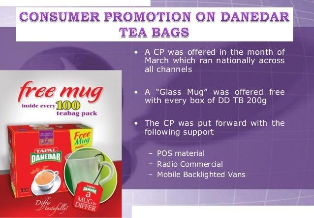 perception of consumer towards tapal tea