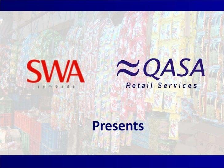 QASA - The Best Trade Marketing and Distribution Performance 2010