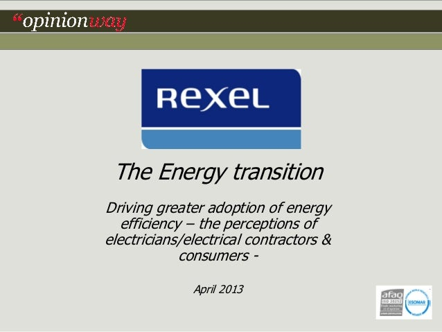 Final report on Energy Transitition (2013)